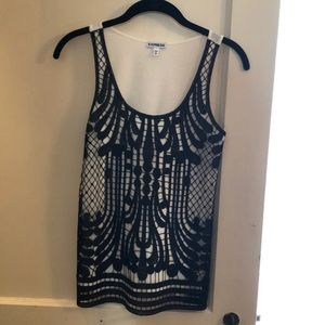 Express Tank with Lace Overlay